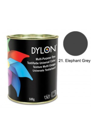 Dylon Multi Purpose Dye - Elephant Grey - 500g