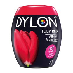 Dylon Machine Dye Pod - Tulip Red 36